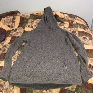Old Navy fleece hoodie with thumb holes and pocket